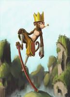 Monkey King by 8kx