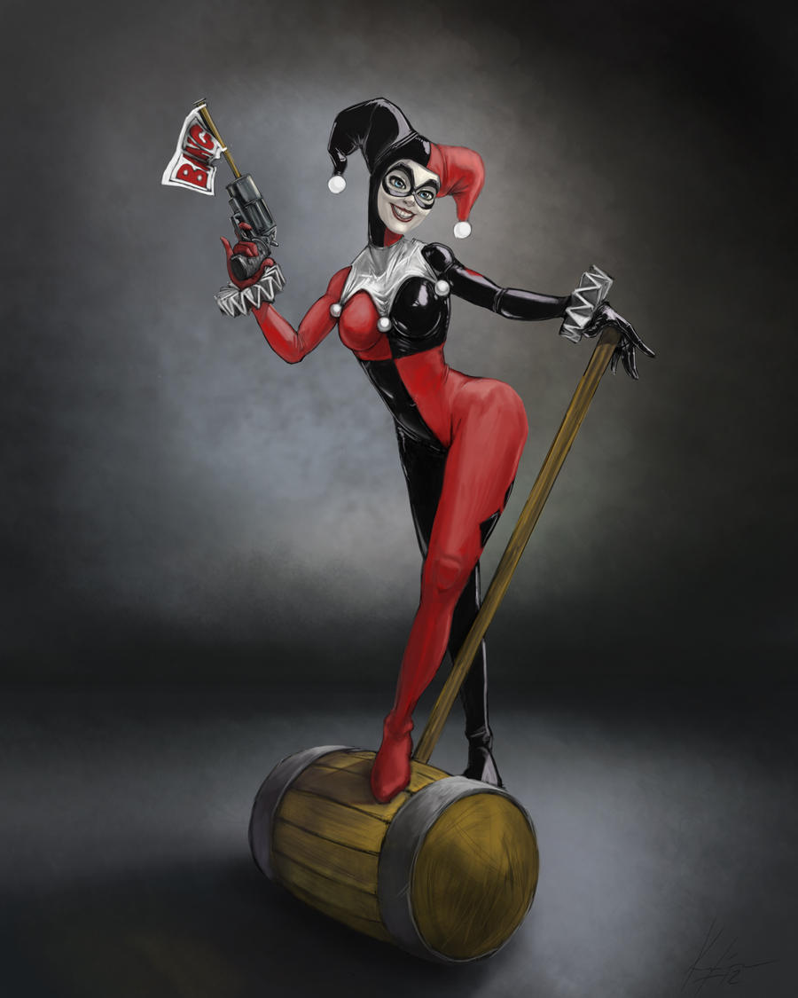 Harley Quinn by 8kx