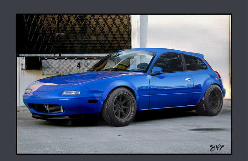 Shootingbrake Miata V02 by 8kx