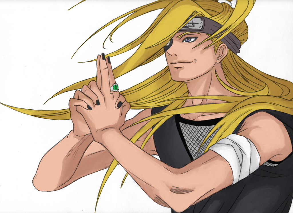 Deidara by Squallcloud66 (not finish) by Delthora