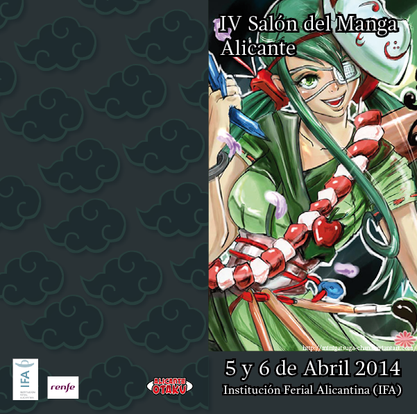 Flayer Salon Alicante 2014 by Delthora