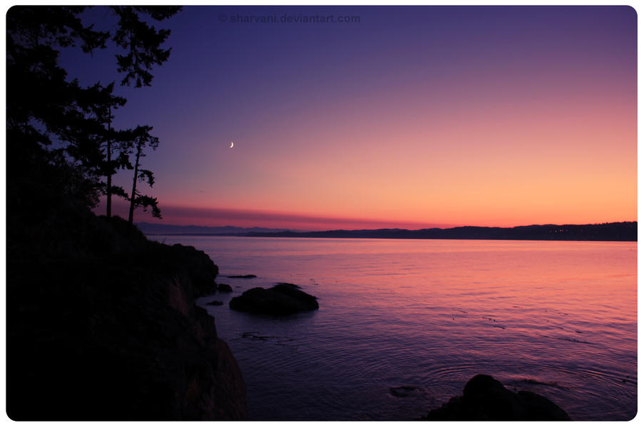 Saxe point sunset by sharvani