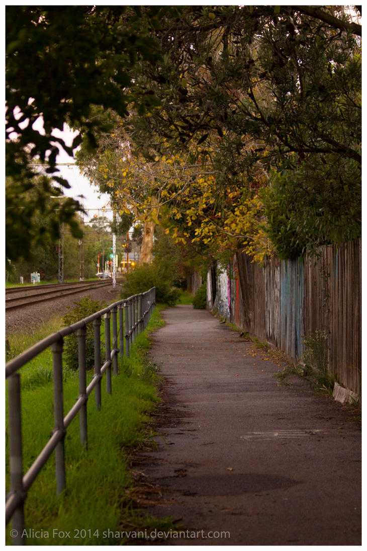 By the tracks by sharvani