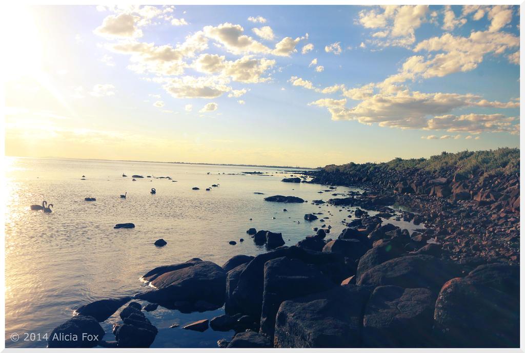 Williamstown beach 02, VIC, Australia by sharvani