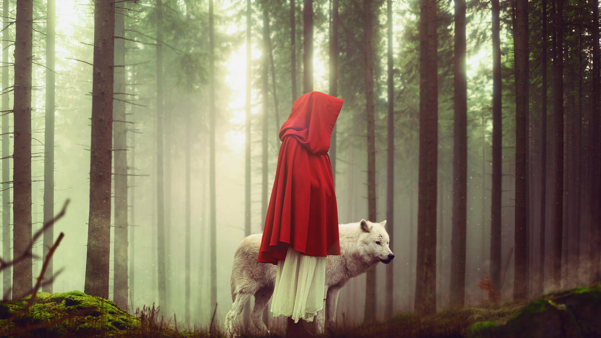 Red And The Wolf by seff01