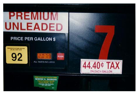 - gas tax - by naplajoie