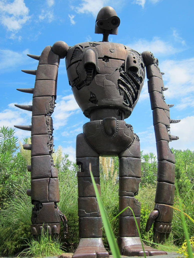 Ghibli D Exhibition : Laputa robot by njkuro on deviantart