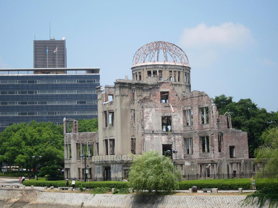 Hiroshima Peace Memorial Park Dome by njkuro on DeviantArt
