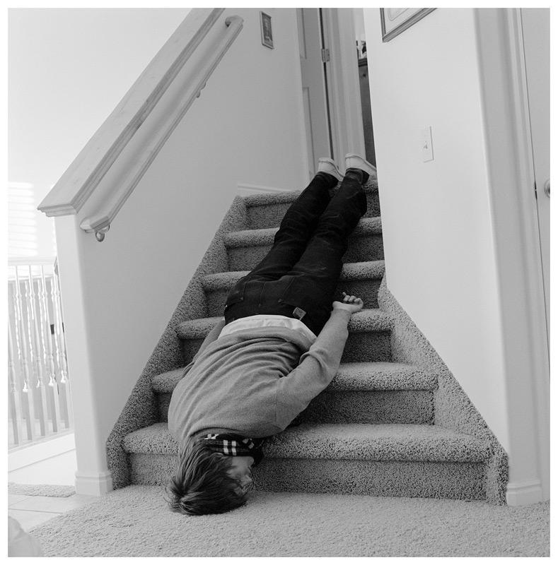 Man Going Down Stairs by glassdrum on DeviantArt