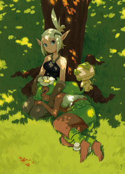 Evangelyne and Amalia