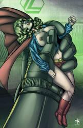 Supergirl in Peril 02.3 by StudioKatsumi