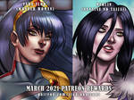 March 2021 Patreon Rewards