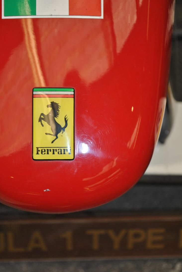 Ferrari F1 schumacher badge...