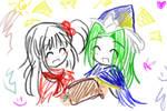 Shinki and Mima