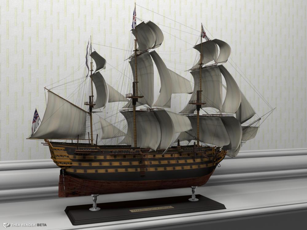 HMS Victory by arfur9