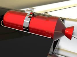 Atom Baby rocket motor by arfur9
