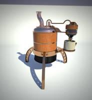 Ye old steam coffee maker by arfur9