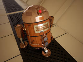 Steam PunK R2D2 by arfur9