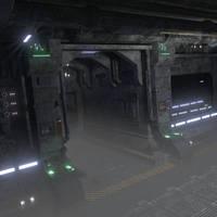 Scifi scene by arfur9