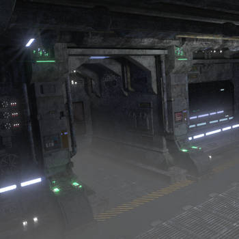 Scifi scene