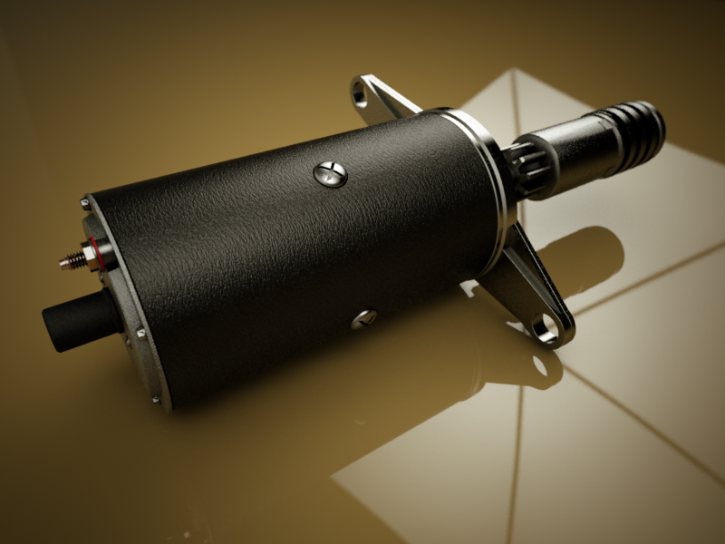 Lucas M35J starter