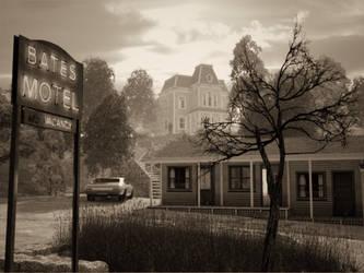 Bates Motel by arfur9
