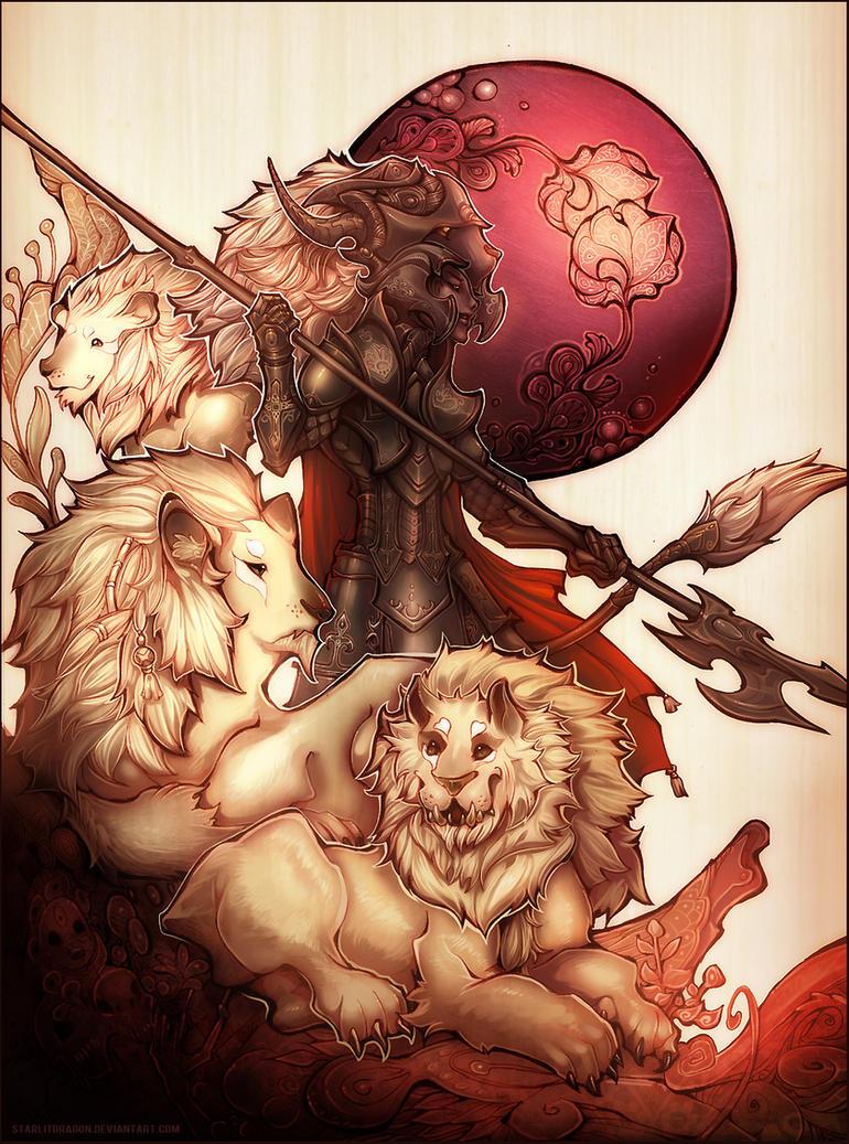 Little Lion Man by Starlitdragon