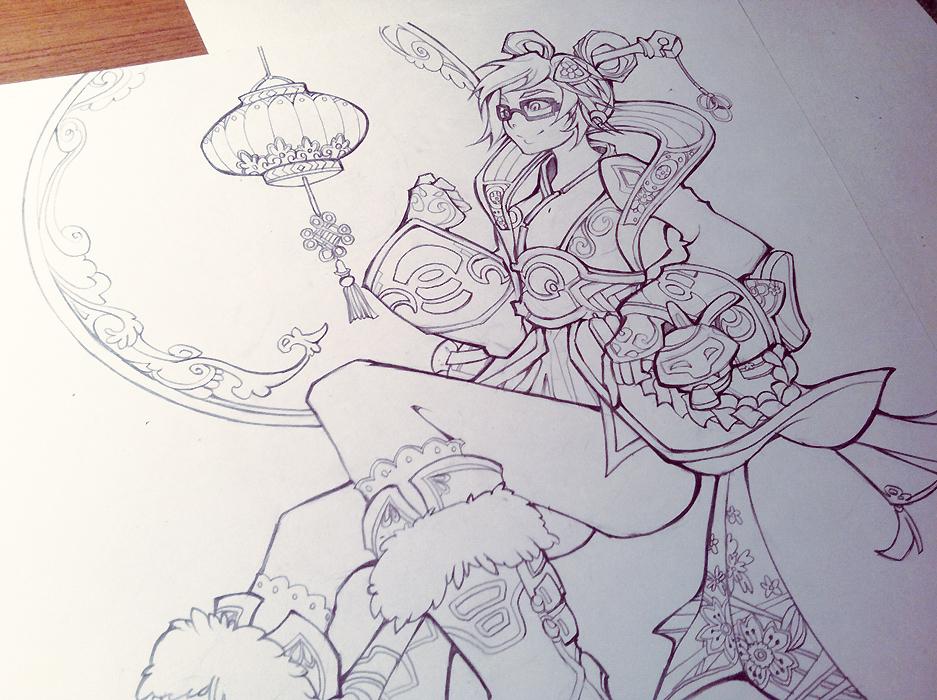 MeiSketch by Starlitdragon
