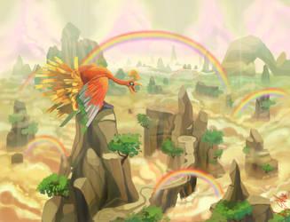 Rainbow Peak by Figuritas