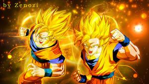 DBZ Golden Warrior by ZenoZi