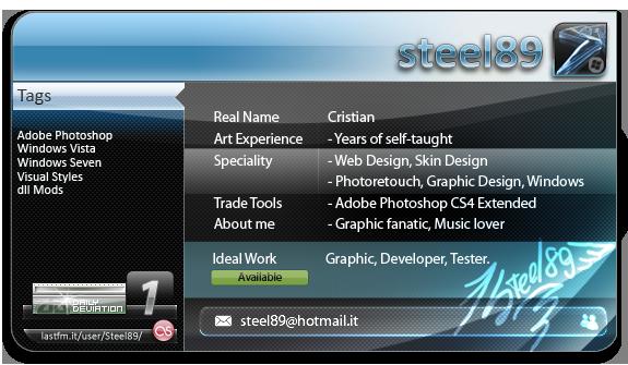 Steel89's Profile Picture