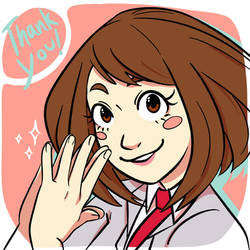 Uraraka Thank-You!
