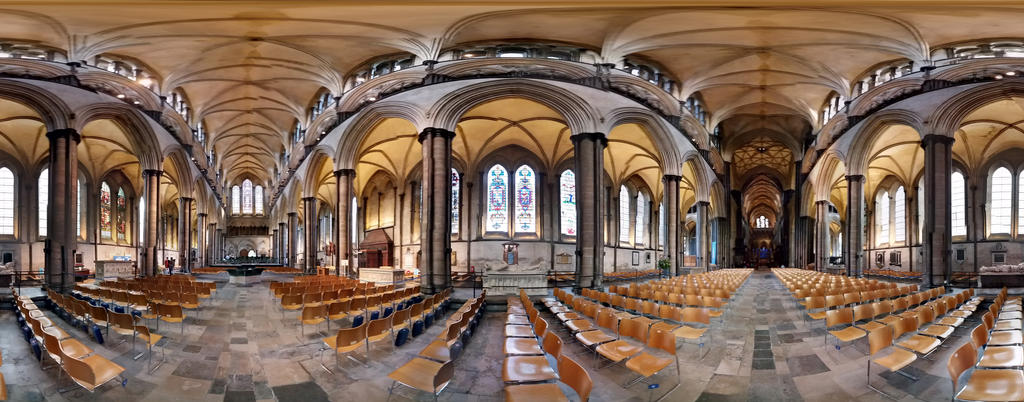 Salisbury Cathedral 360 by dezbo21