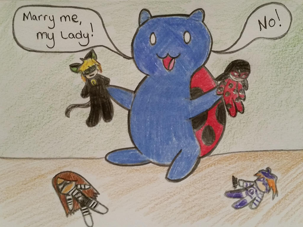 Playtime with Catbug by dezbo21