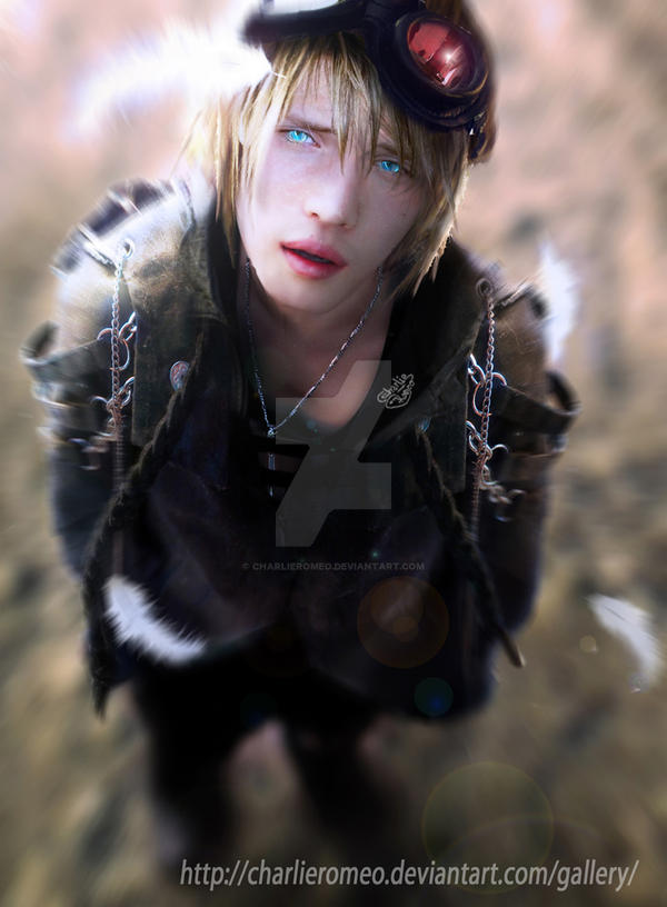 Nael, my first OC by CharlieRomeo