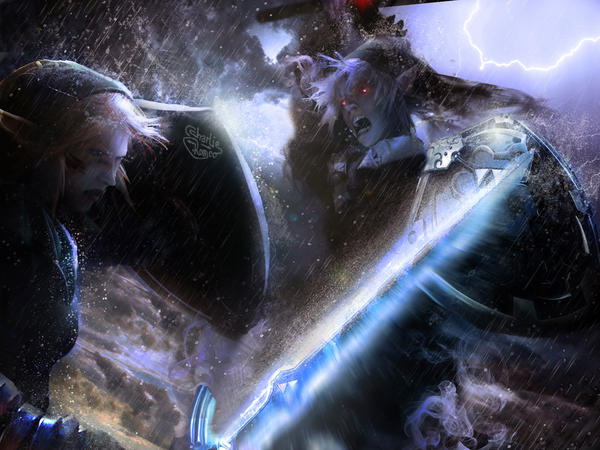 Zelda OoT - The greatest enemy... by CharlieRomeo