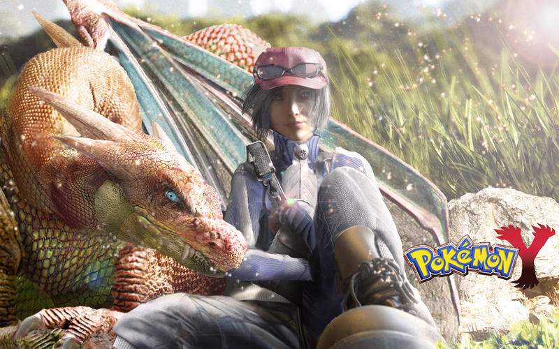 Pokemon Y by CharlieRomeo