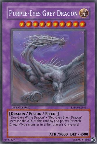Purple Eyes Grey Dragon By Steml On Deviantart