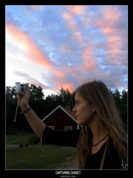 Capturing sunset by ballisticpixels