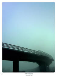 Misty bridge by ballisticpixels