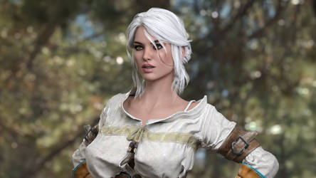 Ciri in the woods?