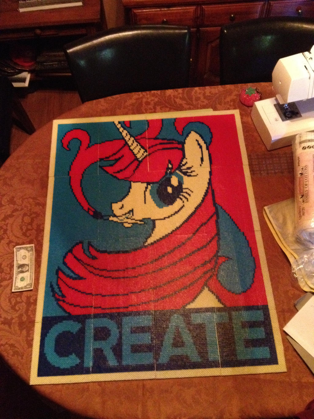 Fausticorn CREATE Poster: finished by MrBackpack