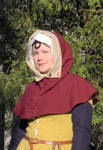 XVth century buttoned hood by Laerad