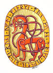 Runic dragon