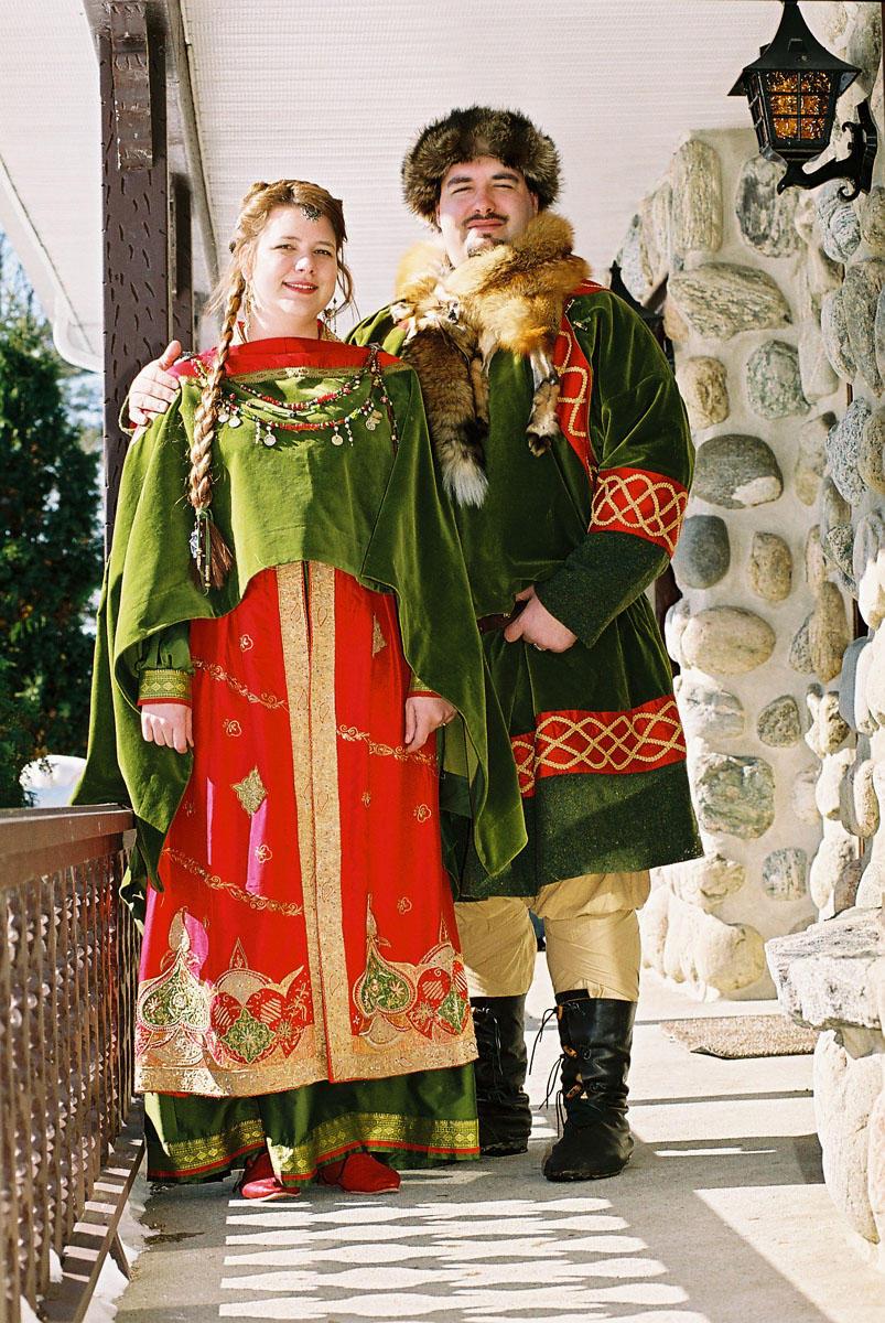 Wedding costumes by Laerad