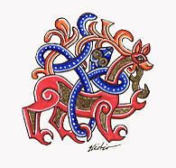 Jellinge Runestone by Laerad