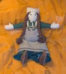 Inga - viking doll by Laerad