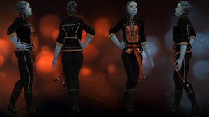Samara Alternate Appearance: Prime Justicar by IncheiaPace