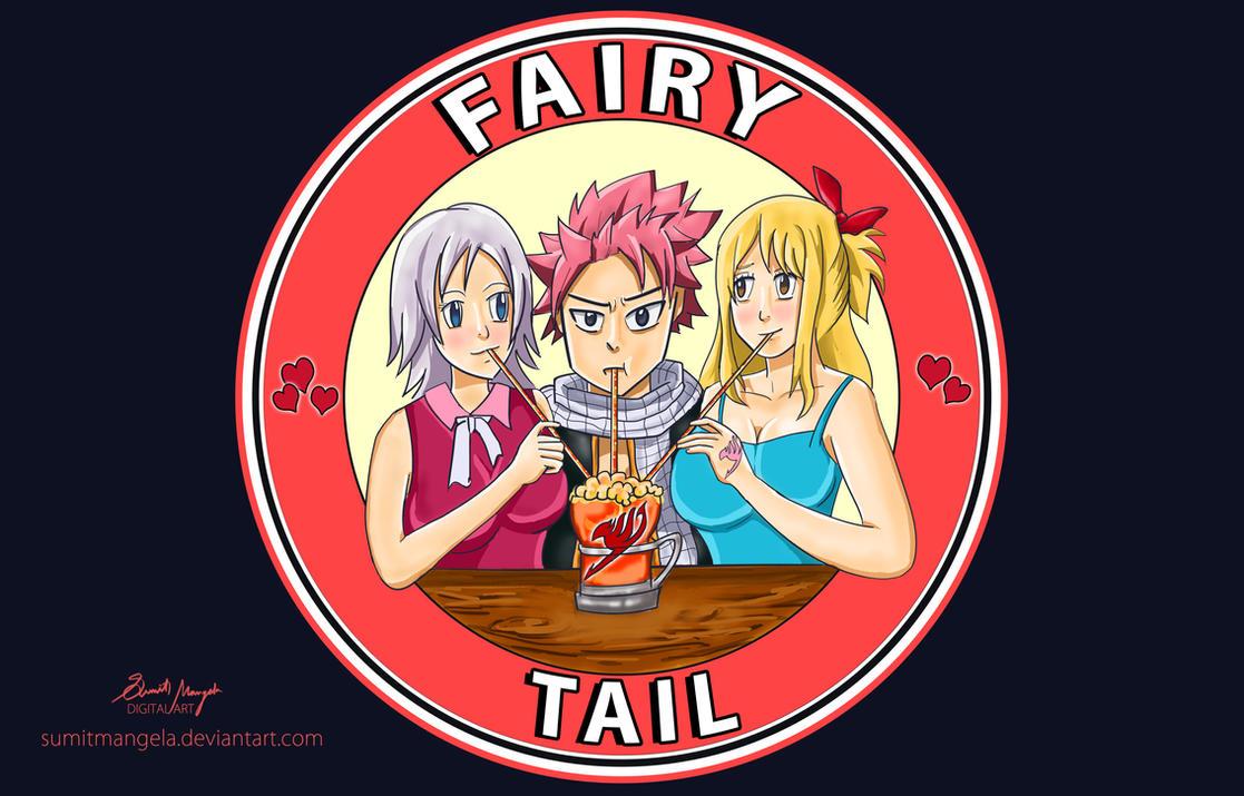 fairy tail triangle natsu x lucy x lisanna by