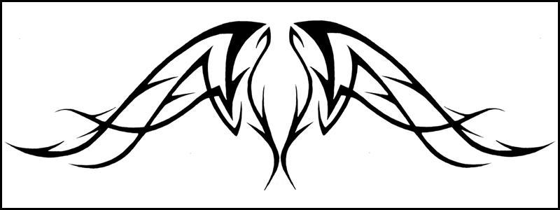 tribal wings by sunnya